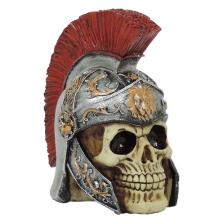 Caveira Decorativa Gladiador