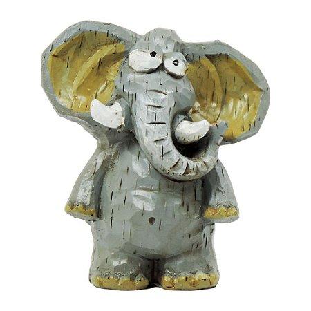 Elefante Decorativa de Resina