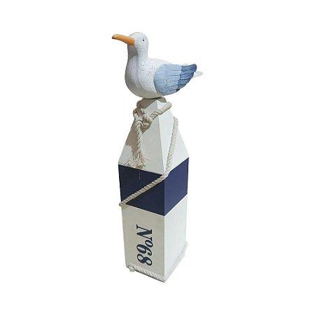 Decorativo de Madeira Gaivota Médio