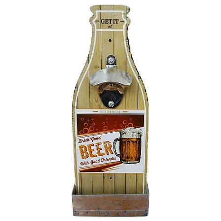 Abridor de Garrafa de Parede Drink Good