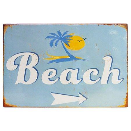Placa de Cerâmica Beach
