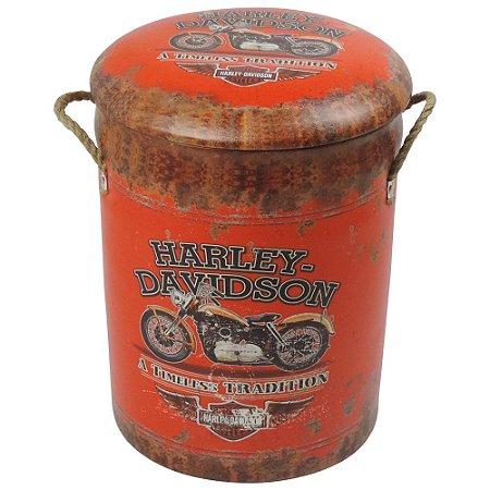 Banqueta Porta Treco Harley Rústico