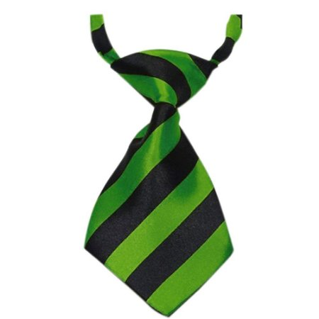 Gravatinha para PET Verde Listrada - Mister Zoo