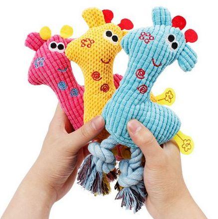 Brinquedo de PET Girafa - Mister Zoo