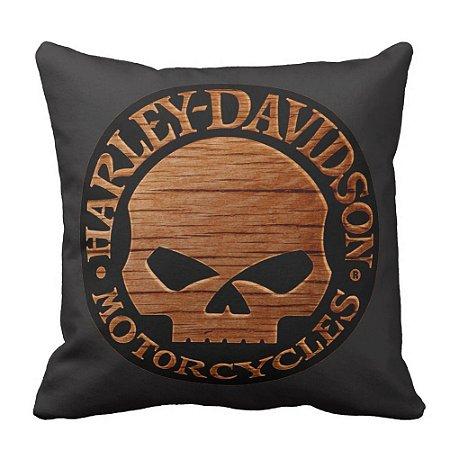 Almofada Cheia Harley Davidson Motor 40x40