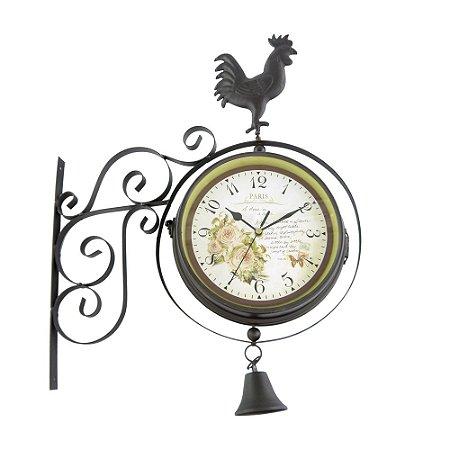Relógio de Parede Estação Galo