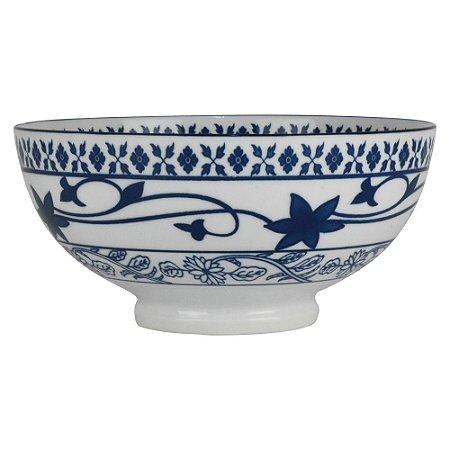 Bowl de Porcelana Arabesco Florido