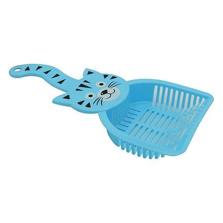 Pá Cata Caca PET Azul