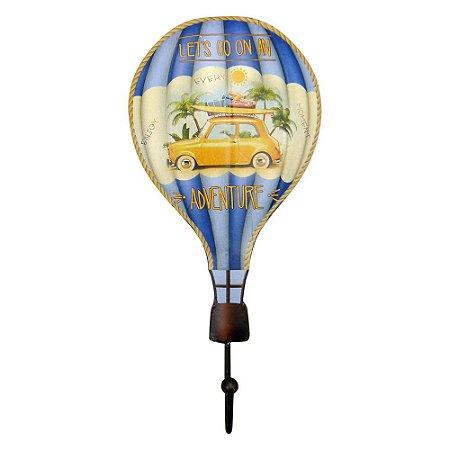 Cabideiro Balão Adventure Azul