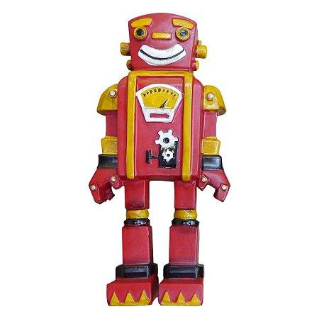 Enfeite Robô Vermelho