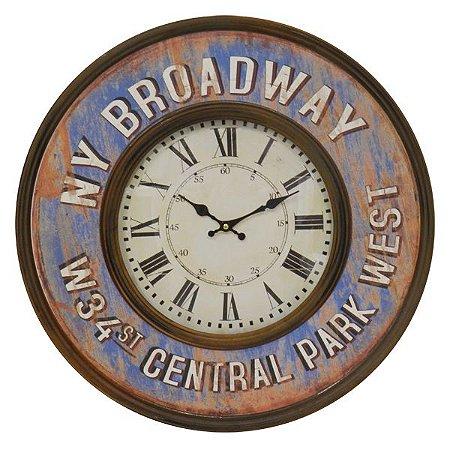 Relógio de Parede Broadway
