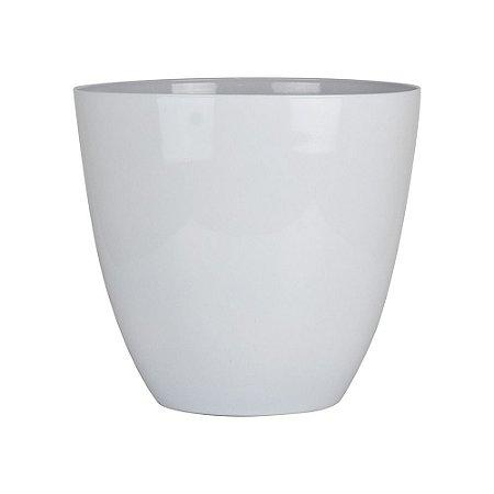 Vaso Prestige Branco em Plástico