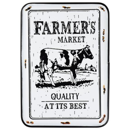 Placa Farmer's Market 32x22cm