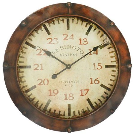 Relógio de Parede Vintage Escotilha 62cm