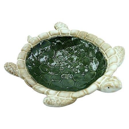 Porta Objetos G Tartaruga em Cerâmica