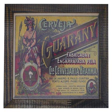 Quadro Cerveja Guarany