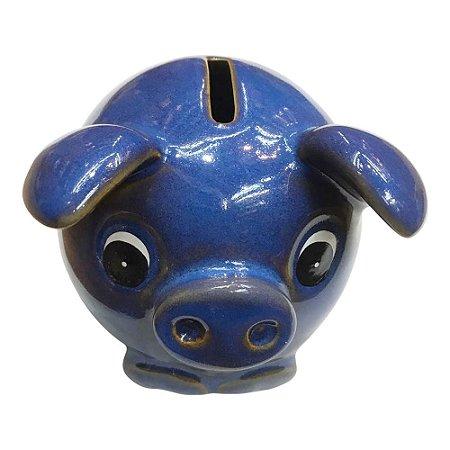 Cofre Porco Azul