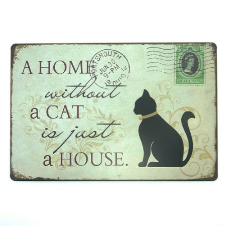 PLACA HOME AND CAT