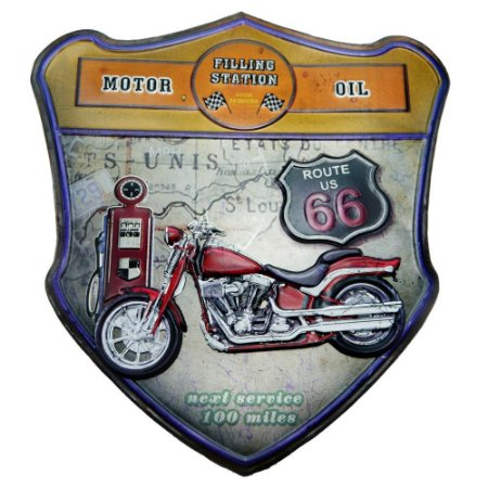QUADRO EM METAL MOTOR OIL