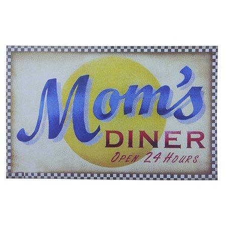Placa Mom's Diner