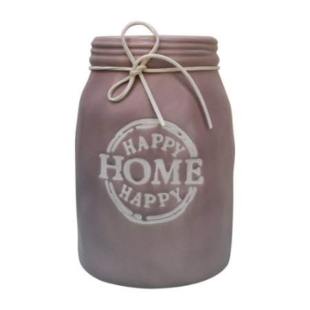 Vaso Happy Home Rosa