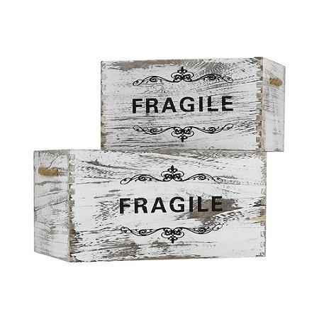 Jg C/2 Caixas Fragile Médio