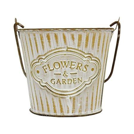 Vaso Balde Flowers & Garden P