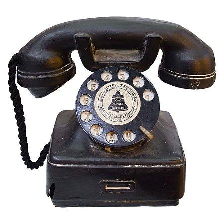 Telefone Retro em Resina