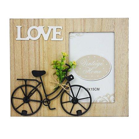 Porta Retrato Love Bike