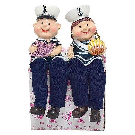 Casal Marinheiros Náutico em Resina