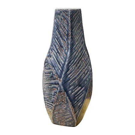 Vaso Floriani Azul em Cerâmica
