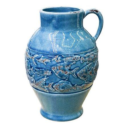 Vaso Náutico Ânfora em Cerâmica