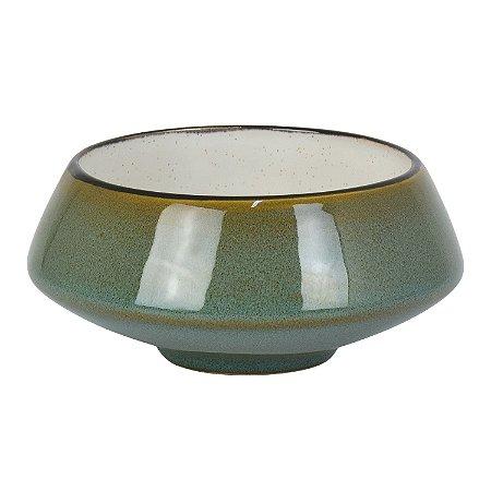 Bowl Debrum Verde em Cerâmica