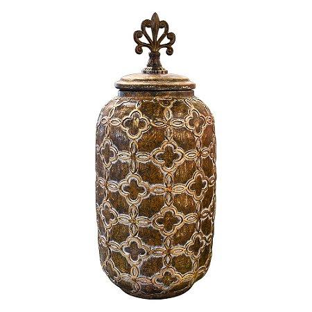 Vaso em Cerâmica Grego G