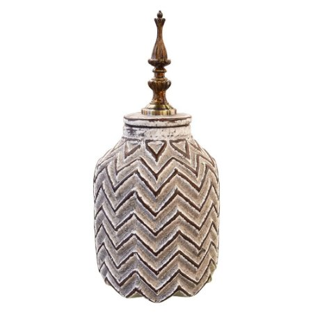 Vaso em Cerâmica Stripes