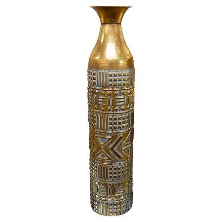 Vaso Dourado Garrafa Dinah G