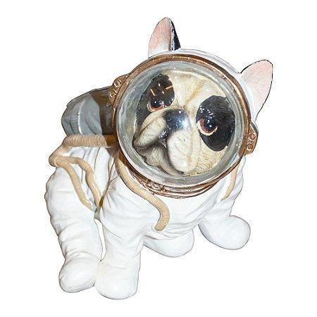 Enfeite Bulldog Astronauta