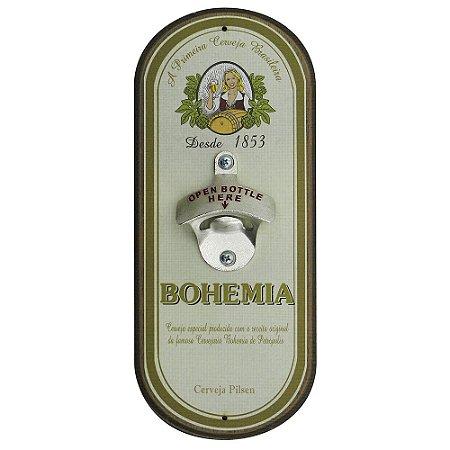 Abridor de Garrafa de Parede Bohemia