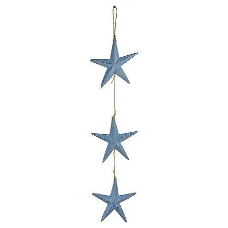 Pendente Estrela Azul