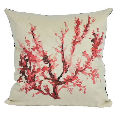 Almofada Náutica Coral Vermelho
