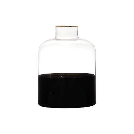 Vaso de Vidro Dual Color