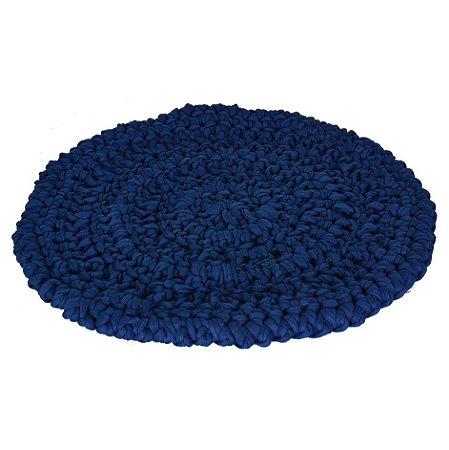 Sousplat em Crochê Azul
