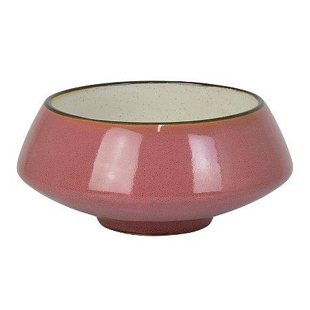 Bowl Debrum Rosa em Cerâmica