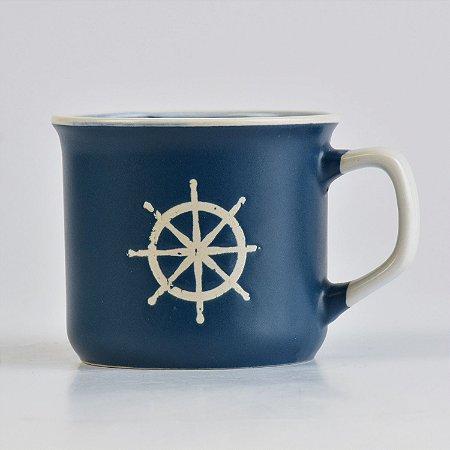 Caneca Ocean Azul Timão em Cerâmica