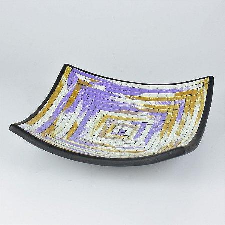 Travessa Retangular Mosaico Grande