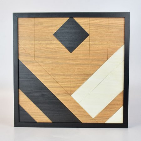 Quadro Quilt Geométrico