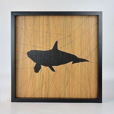 Quadro Quilt Geométrico Orca