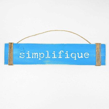 Placa Simplifique
