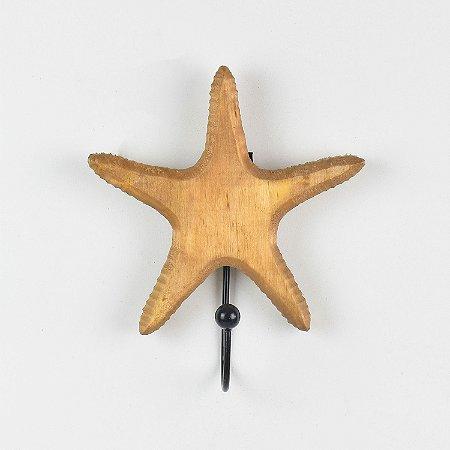 Cabideiro Estrela do Mar Marrom