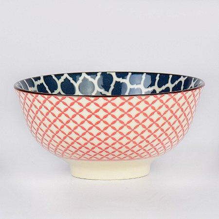 Bowl Inovare Vermelho e Azul